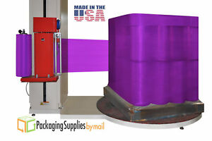8 Rolls Purple Pallet Machine Wrap Stretch Plastic Film 30 X 5000 80 Gauge