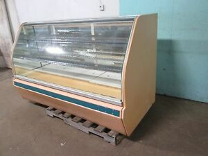 structural Concepts H d Commercial Lighted Curved Glass Bakery Display Case