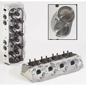 Brodix 2061000 Race Rite Assembled Aluminum Cylinder Head For Big Block Chevy