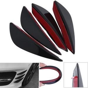 4pcs Auto Car Universal Styling Decoration Accessories Front Bumper Stickers