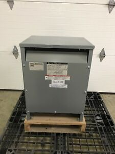 Square D 15t3hf 15 Kva 3 Phase High Voltage 480 Low Voltage 208 120