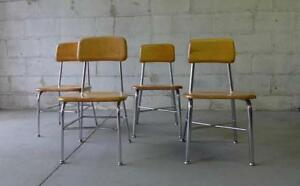 Heywood Wakefield Mid Century Modern School Chair S