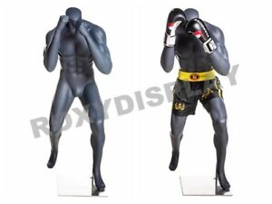 Eye Catching Male Headless Mannequin Athletic Style Boxing Pose mz boxing 1