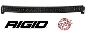 Rigid Industries Rds series Pro Midnight Edition 40 Led Curved Light Bar Spot