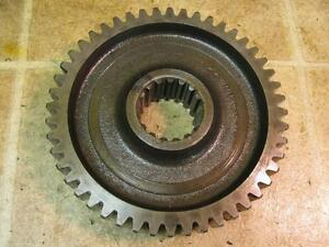 Minneapolis Moline M670 Gas Tractor Transmission Bottom Shaft Gear 48 T Tooth