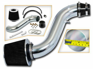 Bcp Black 1990 1993 Honda Accord 2 2l L4 Short Ram Air Intake Kit Filter
