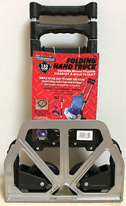 Milwaukee Hand Trucks Aluminum Fold Up Hand Truck 33884 New