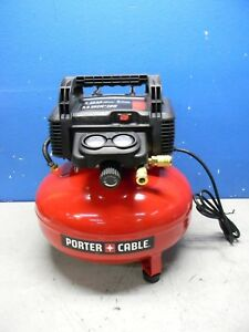 Porter Cable 6 Gal Portable Pancake Electric Compressor Oil Free 0 8hp C2002