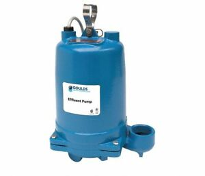 Goulds Water Technology We0511hh Submersible Effluent Pump 1 2 Hp 2nvc1 New