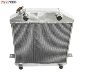 39 41 Ford Flathead L head Y Block 3 Row Core Tri Full Aluminum Racing Radiator