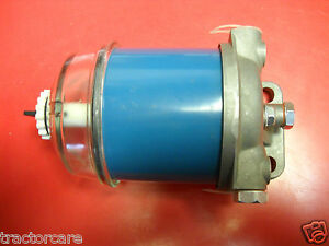 Ford Backhoe Fuel Filter Assembly 550 555 550a 550b 5500 650 655 6500 83937061