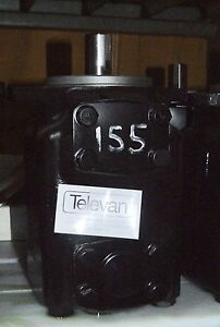 Vickers Hydraulic High Speed Vane Motor 45m 155a 1c 20