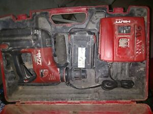 Hilti Te 6 a 36 Hammer Drill With 2 Batteries Charger And Case