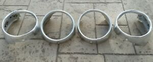 1964 Ford Galaxie Headlight Bezels Rings Trim