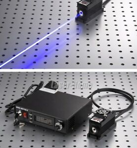 500mw 450nm Blue Laser Dot Module Ttl analog tec Adjustable Digital Power