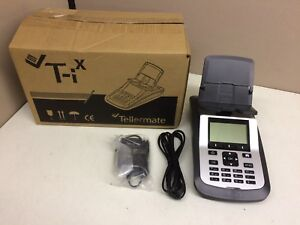 New Tellermate T ix 4500 Currency Counter Scale Money Counting Machine Pls Read