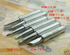 60 Pcs Soldering Tip 900m t Tips Iron Tip For Hakko936 937 928 Soldering Station