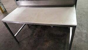 Stainless Steel Poly Trimming Table 60 X 30 Commercial Kitchen Table