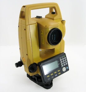New Topcon Gts 1002 2 400m Prismless Range Total Station Usa Stock 1y Warranty
