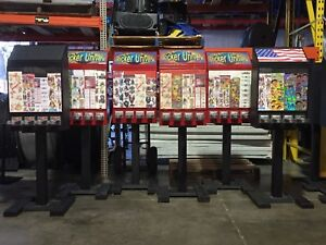 Tattoo Sticker Bulk Vending Machine Candy Toy Route Business Pokemon Nfl Cards