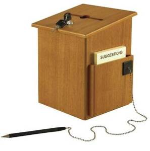 Wood Suggestion Box id 86301