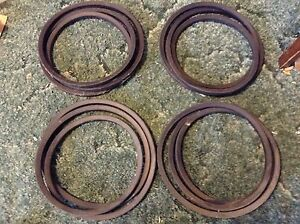 526370 A New Original 4 Belt Set For A New Idea 5408 5409 5410 Disc Mowers