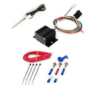 150 240 Adjustable Electric Fan Controller Kit W Push In Probe Thermostat
