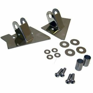 Rt Off Road Set Of 2 Mirror Relocation Brackets New Jeep Wrangler Rt30015