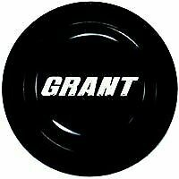 Grant Products Horn Button Steel Black Grant Emblem For Signature Series Each