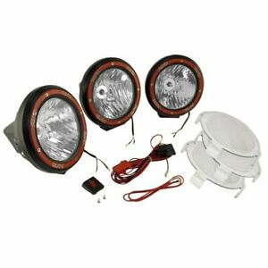 Rugged Ridge Set Of 3 Hid Offroad Lights New 15205 64