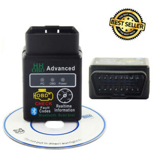 Obdii Scanner Code Reader Bluetooth Can Obd2 Scan Tool For Elm327 Torque Android
