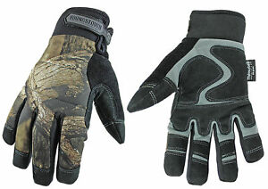 Youngstown 05 3470 99 l Waterproof Winter Gloves Mossy Oak Camo Large