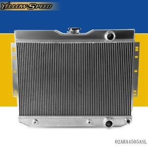 Aluminum Radiator For 1959 1963 Chevy Impala Bel Air Biscayne 1960 1965