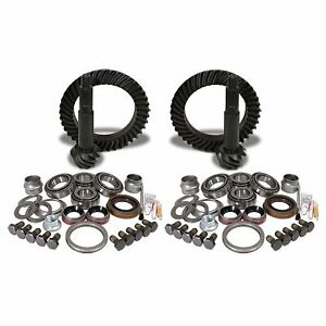 Yukon Gear Axle Ring And Pinion Front Rear New Jeep Wrangler 2007 2014 Ygk015