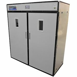 Rite Farm Products Pro2112 Cabinet Incubator Hatcher 2112 Chicken Egg Capacity