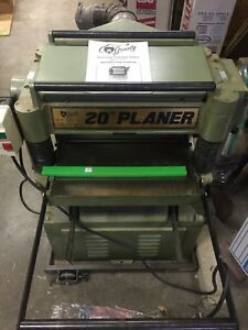 Grizzly Auto feed 20 Precision Planer With Dust Collection 3hp Nice