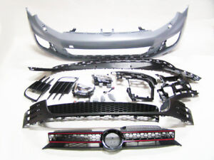 Vw Golf 6 Vi Mk6 Jetta Wagon 10 14 Gti Look Front Bumper With Grille