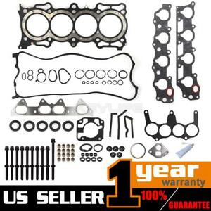 Fits Honda Accord For Odyssey 98 02 Head Gasket Bolts Kit 2 3l F23a1 Sohc 16v