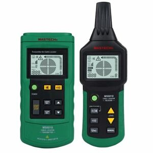 Seesii Ms6818 Professional 12 400v Ac dc Wire Cable Tracker Metal Pipe Locator