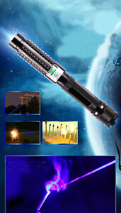 B820 a 450nm Blue Laser Pointer Pen Burn Matches Light Cigarettes Pop Balloons