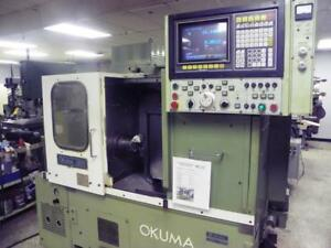 Okuma Lb10 Cnc Turning Center