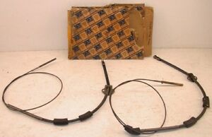Nos 1941 1950 Rear Brake Cables Chevy Master Special Master Deluxe Styleline