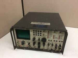 Motorola R2008d hs Communications System Analyzer Service Monitor As is