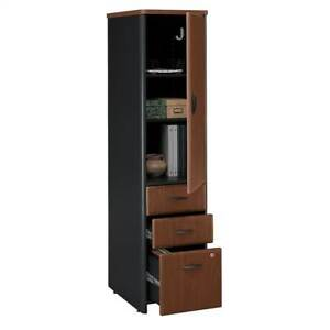 Vertical Locker Cherry Colored Filing Cabinet Series A id 2468