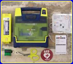 Cardiac Science Powerheart Recertified G3 Aed With 2018 Pads 100 Battery 9300