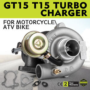 Top Racing Gt15 T15 Turbo Charger For Motorcycle Atv Bike 35 A R Cool