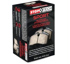Stoptech Street Performance Disc Brake Pads W Brembo 309 10010 Front Set