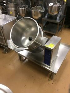 Cleveland 40 Quart Tilt Kettle Ket 12t 208 240 3ph