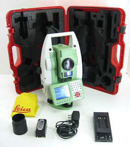 Leica Ts15r1000 A 5 Total Station For Surveying 1 Month Warranty