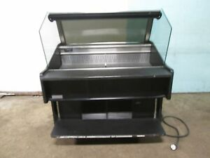 southern Hd Commercial Open Lighted 51 w Refrigerated Produce Display Cooler